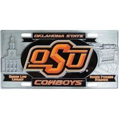"Checkout our #LicensedGear products FREE SHIPPING + 10% OFF Coupon Code ""Official"" Oklahoma State Cowboys Collector's License Plate - Officially licensed College product Exceptional 3D details Perfect for wall mounting Base of the plate is over 1/8 inch thick with raised details Oklahoma St. Cowboys sculpted emblem - Price: $54.00. Buy now at https://officiallylicensedgear.com/oklahoma-state-cowboys-collector-s-license-plate-cvp58"