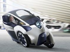 Toyota i-Road Personal Mobility Electric Vehicle