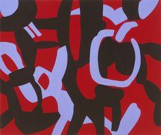 Carla Accardi, L'enigma dell'ora 2012, vinyl on canvas, 100x120 cm, arch. n. 344C_72