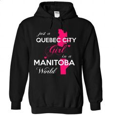 JUST A QUEBEC CITY GIRL !!! - #tumblr sweater #sweater shirt. BUY NOW => https://www.sunfrog.com/States/JUST-A-QUEBEC-CITY-GIRL-1689-Black-Hoodie.html?68278