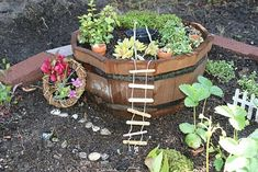 Love the idea of fairy gardens and fostering a love of nature and imagination for kids!