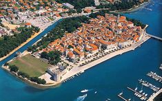 Visit Croatia – Beautiful Country at Adriatic Sea - Historical Core of Trogir, Croatia Yacht Charter Croatia, Charter Boat, Places Around The World, Around The Worlds, Trogir Croatia, Visit Croatia, Greece Holiday, Adriatic Sea, Most Beautiful Cities