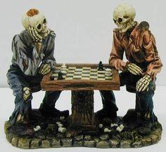 Wise Satranç Oynayan İskeletler