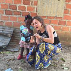 Lauren Daigle in Africa // Girl wearing her bracelets ♥ #laurendaigle