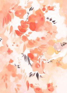Pretty watercolor painting