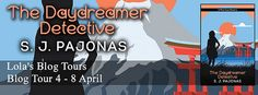 Blog Tour: The Daydreamer Detective by SJ Pajonas