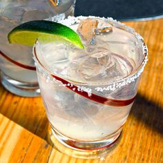 """The Lincoln"" White Whiskey Margarita"