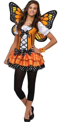 Butterfly Queen Costume for Teen Girls - Halloween City I want this for my costume!!!!
