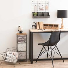 Iron letters box from Maisons du Monde (France) - 35€ (reference: Barky Black).