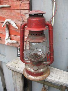Vintage lampe a l'huile (gsw) beacon canada des années 1920 de la boutique…