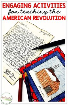 Help your students do more than just learn facts & dates about the American Revolution. Help them bring to history to life with these engaging American Revolution activities. Your 3rd, 4th and 5th grade students will be drawn into history in a way that helps them truly understand it. Activities like timelines, interactive notebooks, historical writing & more will take your Revolutionary War lessons to the next level. #UpperElementary #AmericanRevolutionLessons #RevolutionaryWarActivities Social Studies Projects, Social Studies Classroom, Social Studies Activities, Writing Activities, Teaching Resources, Teaching Ideas, Creative Teaching, American Revolution, Interactive Notebooks