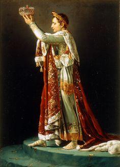 L'empereur couronnant Joséphine