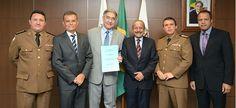 Prefeitura de Vespasiano doa terreno para futuras instalações da Academia de Polícia Militar de Minas Gerais