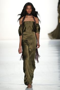Erin Fetherston - Every Beautiful Black Model on the Runway at New York Fashion Week