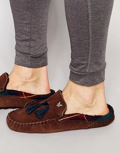Lyle & Scott Torridan Suede Slipper Men Dress, Dress Shoes, Mens Sleepwear, Lyle Scott, Loafers Men, Oxford Shoes, Pajamas, Slippers, Fashion
