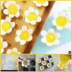 DIY Mini Lemon Flower Tarts Recipe #recipe #dessert Tarts Recipe, Recipe Recipe, Delicous Desserts, Just Desserts, Lemon Flowers, Lemon Tarts, How Sweet Eats, Sweet Life, Food Art