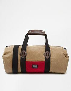 ASOS+Barrel+Bag+in+Waxed+Fabric Barrel Bag 81282bd3b3d73