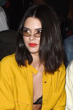 Kendall Jenner has cut her hair again...
