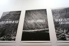 """""""Verás un mar de piedras"""", Raul Zurita en la Galería Isabel Aninat.  #ARCO2016 Feria Arco Madrid. #FeriaArte #ArtFair #ArteContemporáneo #ContemporariArt #Art #Arte #Arterecord 2016 https://twitter.com/arterecord"""