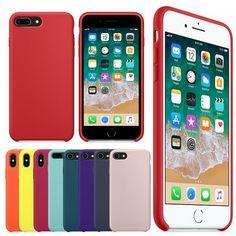 comprar GETIHU casos funda de silicona Original para iphone 8 7 más para la  caja del teléfono iphone de Apple para X 7 8 más iphone 7 Coque iphone 6 a9be22b74ca6