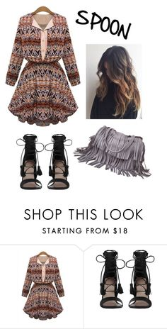Outfit For Spoon Body Shape By Roshni Verma Liked On Polyvore Featuring