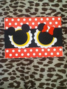 Mickey and Minnie Party Invitations