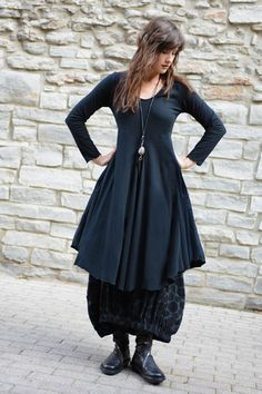 This. (Amsterdam Dress in Black Tokyo) I love love love this silhouette!