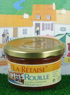 Cette rouille provient d'une recette typiquement rétaise. Disponible sur www.terroir-des-charentes.com