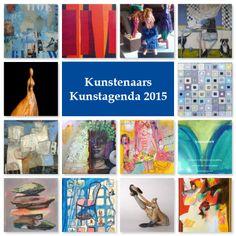Alle kunstenaars die deelnemen aan Kunstagenda 2015