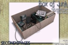 Second Spaces - box of junk (bxd1)