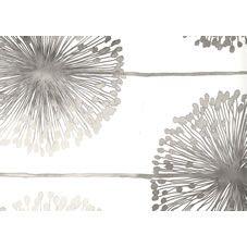 Muriva  Dandelion Wallpaper Silver at wilko.com