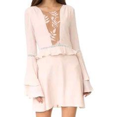 Sale!!For Love And Lemons Emelia Mini Dress