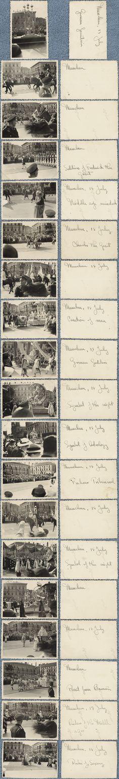 """Der Tag der Deutschen Kunst Parade feiert """"2000 Jahre Deutsche Kultur"""" in München, Juli 1939."""