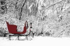 Vintage sleigh