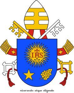 Na balkonie bazyliki św. Piotra nie wisiał we Wielkanoc 2013 r. herb papieski, albowiem po ujawnieniu spisku antykościelnego, Kuria Rzymska musiała wyciąć naprędce z niego masońską gwiazdę pięcioramienną antychrysta i zamienić ją w ukryciu, po cichu na ośmioramienną, gdyż biedaczyna nie wiedział, jezuita, biskup Kościoła św., kardynał jeżdżący dla picu (czy jak to się teraz w Polsce mówi: dla pijaru) po Buenos Aires tramwajem, że niepokalane serce Maryi okala wieniec gwiazd ośmioramiennych: