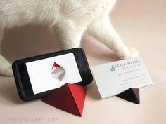 doppia piramide - origami-stand-4