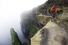 Hans Rey And Steve Peat The Cliffs Of Moher Ireland 2006