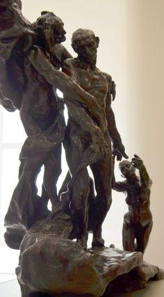 L'âge mûr, vers 1890 par Camille CLAUDEL (1864-1943). Bronze, fonte E. Blot n°3 en 1907. Réduction au tiers du modèle original. Musée Camille Claudel à Nogent-sur-Seine. Photo : Hervé Leyrit ©