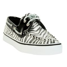 Sperry Top-Sider Bahama Zebra Sequin Boat Shoe at Von Maur