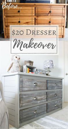 Simply Beautiful by Angela: A Dresser Makeover for Lukie Pookie!