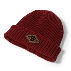 Oakley Dead Tree Cuff Beanie muts heren iron red