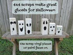 turn scrap wood into ghosts!!