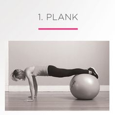 6 Must-Do Moves With a Stability Ball. Just did the first two (not even for the full amount) and I feel like I'm dying. Hooray for out-of-shape-ness!