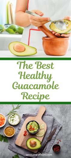 This super creamy homemade guacamole recipe is so easy to make This Keto and AIP Guacamole Dip recipe is free of nightshades and dairy. It tastes amazing! It uses just a handful of ingredients and is ready before you can say Guacamole. Keto and Low Carb Friendly Best Guacamole Recipe, Guacamole Dip, Homemade Guacamole, Yummy Healthy Snacks, Healthy Appetizers, Healthy Salads, Low Carb Side Dishes, Healthy Side Dishes, Low Carb Recipes