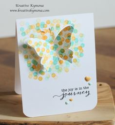 Joy in the Journey was created with Papertrey Ink Life is Beautiful Die, Inks and Mama Elephant Sightseeing Stamp Set
