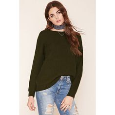 Forever21 Cable Knit Sweater Top (1,065 INR) ❤ liked on Polyvore featuring tops, sweaters, chunky cable knit sweater, cable-knit sweater, long sleeve sweater, full length sweater and forever 21 tops