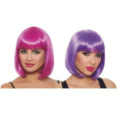 Prism Wig Club Candy 80/'s Rave Party Fancy Dress Halloween Costume Accessory