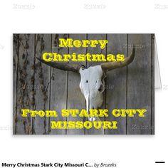 Merry Christmas Stark City Missouri Christmas Card