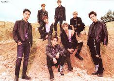 EXO - 181104 'Don't Mess Up My Tempo' album contents photo Kyungsoo, Exo Group Photo, Group Photos, Exo 2014, Exo Album, Kim Minseok, Xiuchen, Exo Korean, Celebrity List