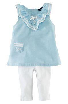 Ralph Lauren Tank Top & Leggings (Infant) available at #Nordstrom